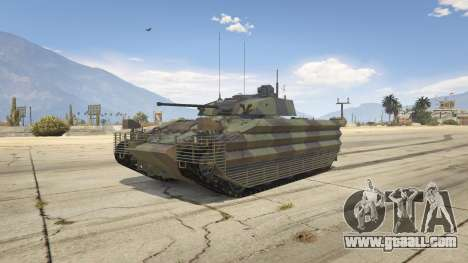 FV510 Warrior for GTA 5