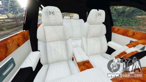 GTA 5 Rolls Royce Ghost 2014 v1.2 right side view