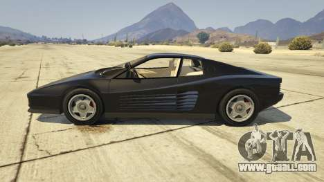 GTA 5 1984 Ferrari Testarossa 1.9 left side view