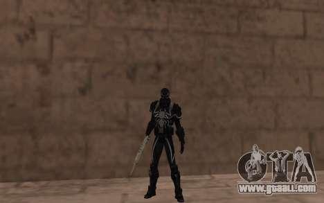 Agent Venom by Robinosuke for GTA San Andreas third screenshot