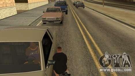 Crush Car for GTA San Andreas third screenshot
