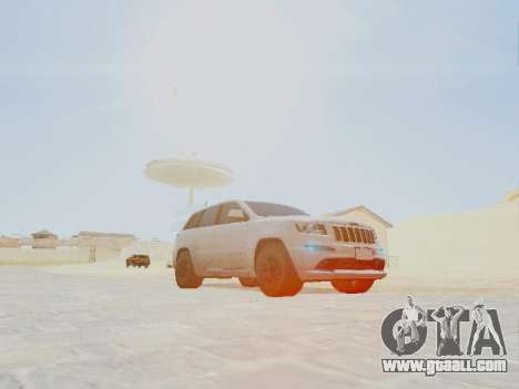 Jeep Grand Cherokee SRT8 2013 Tuning for GTA San Andreas right view
