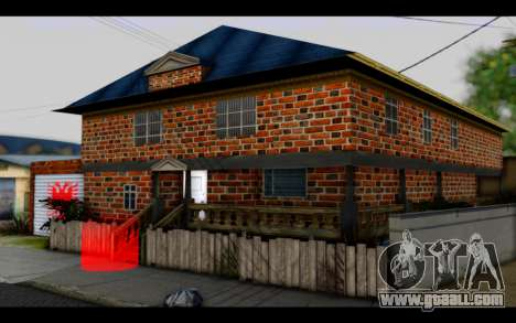 New CJ House for GTA San Andreas second screenshot