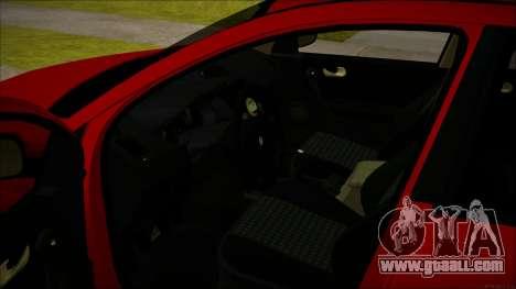 Renault Megane Ukrainian Stance for GTA San Andreas inner view