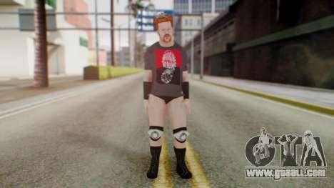 Sheamus 1 for GTA San Andreas second screenshot