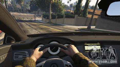 GTA 5 Mercedes-Benz CLS 63 AMG v.1.2 rear right side view