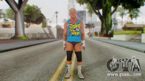 Dolph Ziggler 2 for GTA San Andreas second screenshot
