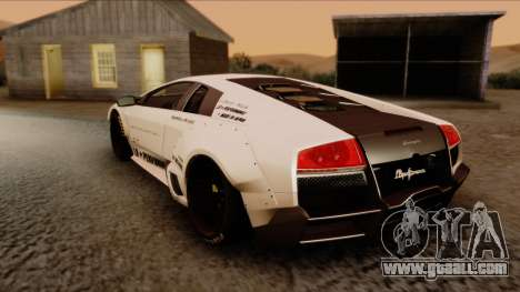 Lamborghini Murcielago LP670-4 SV 2010 for GTA San Andreas left view