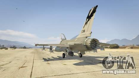 GTA 5 F-16C Fighting Falcon third screenshot