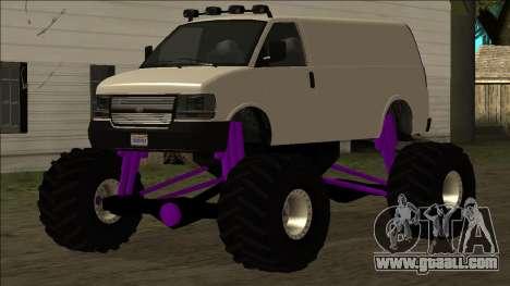 GTA 5 Vapid Speedo Monster Truck for GTA San Andreas
