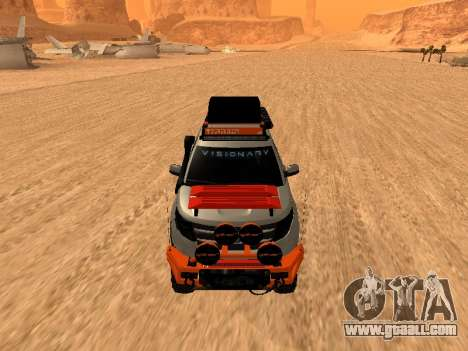 Ford Explorer 2013 Off Road for GTA San Andreas left view