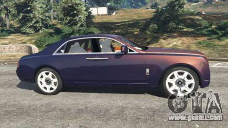 GTA 5 Rolls Royce Ghost 2014 v1.2 left side view