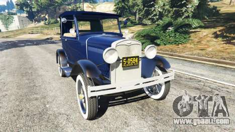 Ford Model T 1927 [Tin Lizzie] for GTA 5