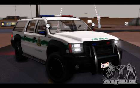 GTA 5 Declasse Sheriff Granger IVF for GTA San Andreas upper view