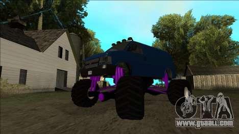 GTA 5 Vapid Speedo Monster Truck for GTA San Andreas engine
