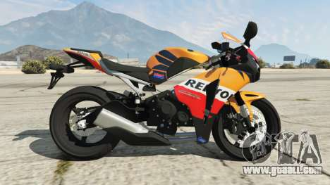 GTA 5 Honda CBR1000RR [Repsol] left side view