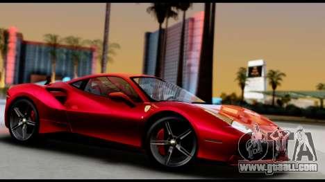 Ferrari 488 GTB 2016 for GTA San Andreas right view