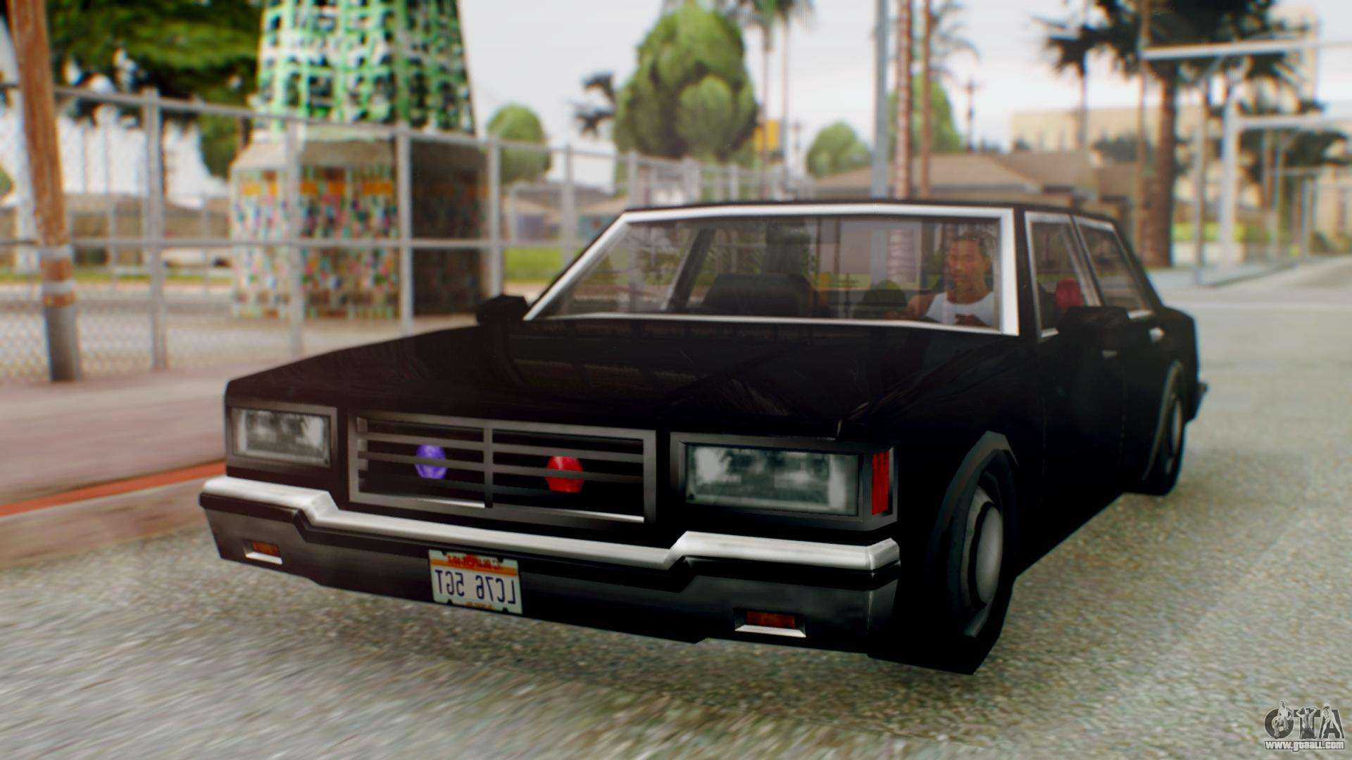 Unmarked Police Cutscene Car Stance for GTA San Andreas