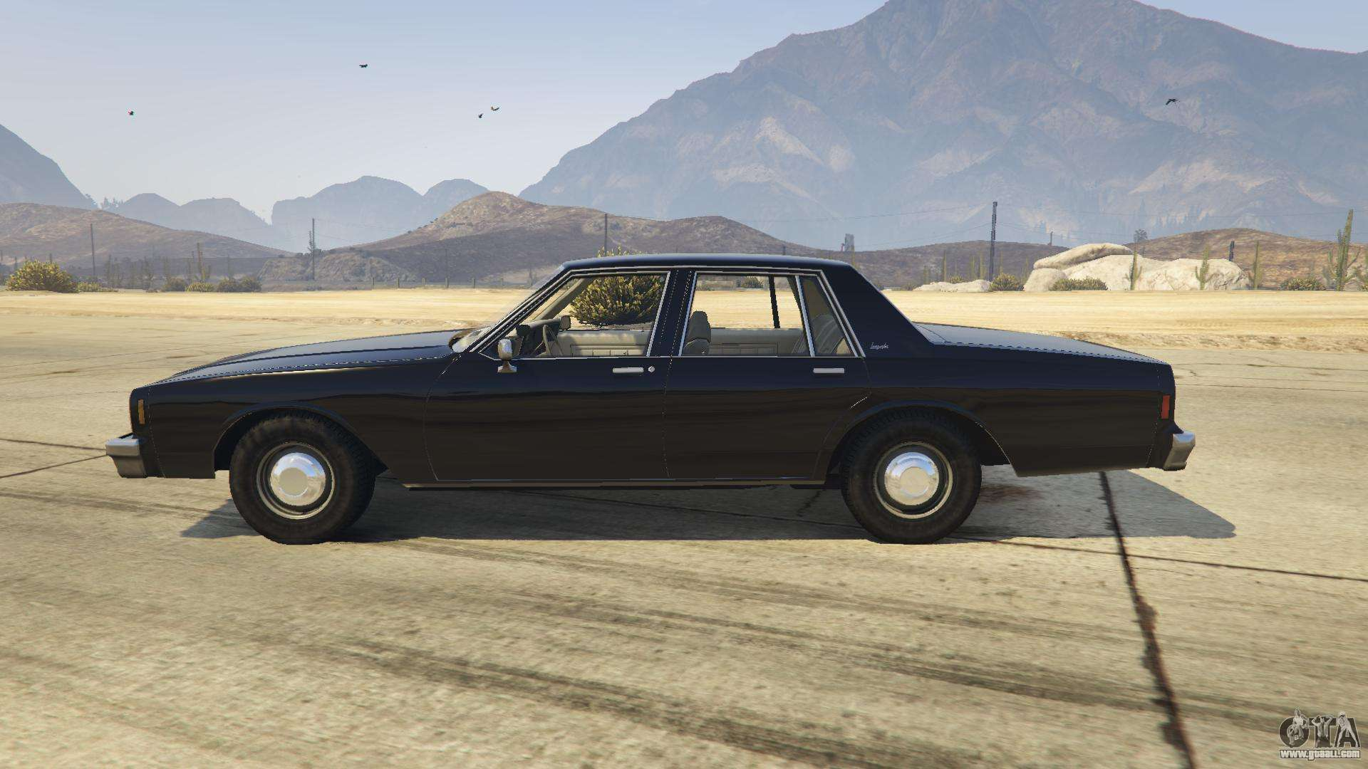Chevrolet impala 1985 for gta 5 for Fenetre sale gta 5