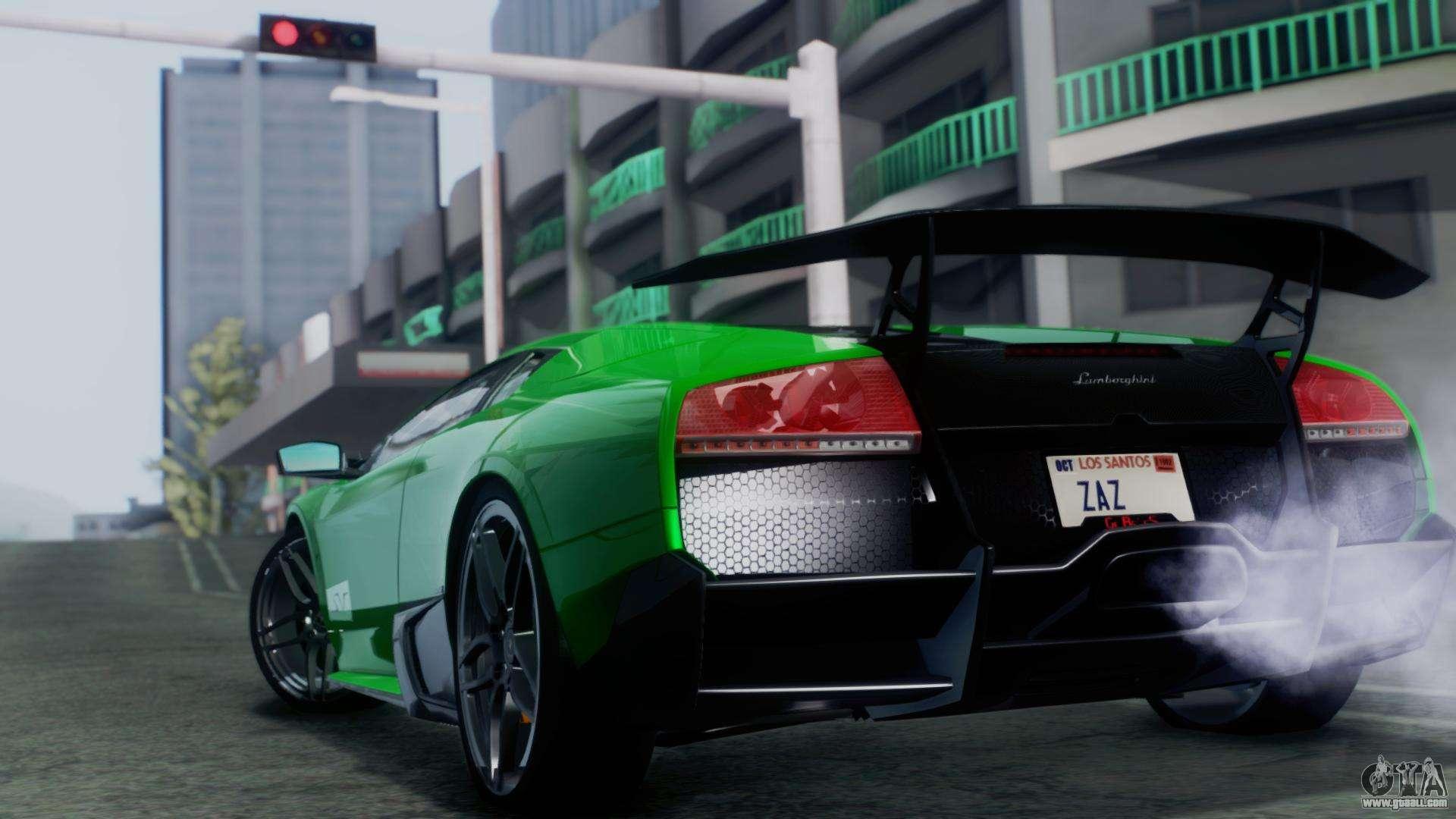 Lamborghini Murcielago Lp670 4 Sv 2010 For Gta San Andreas
