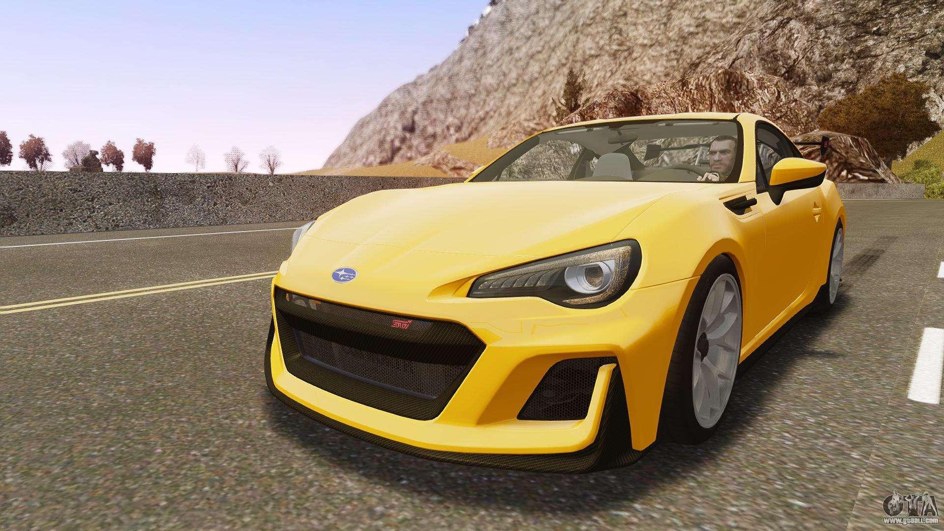 Subaru for GTA 4