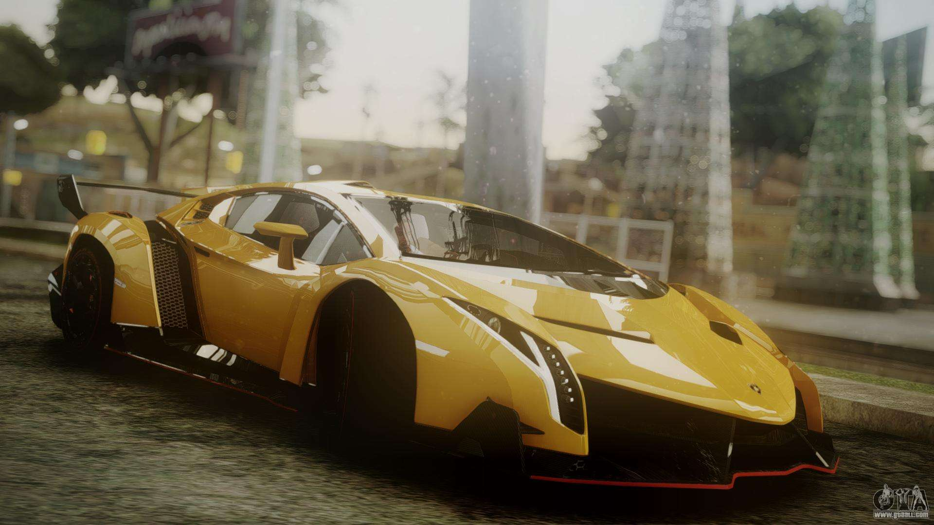 Lamborghini Veneno for GTA San Andreas for Lamborghini Veneno Gold  165jwn