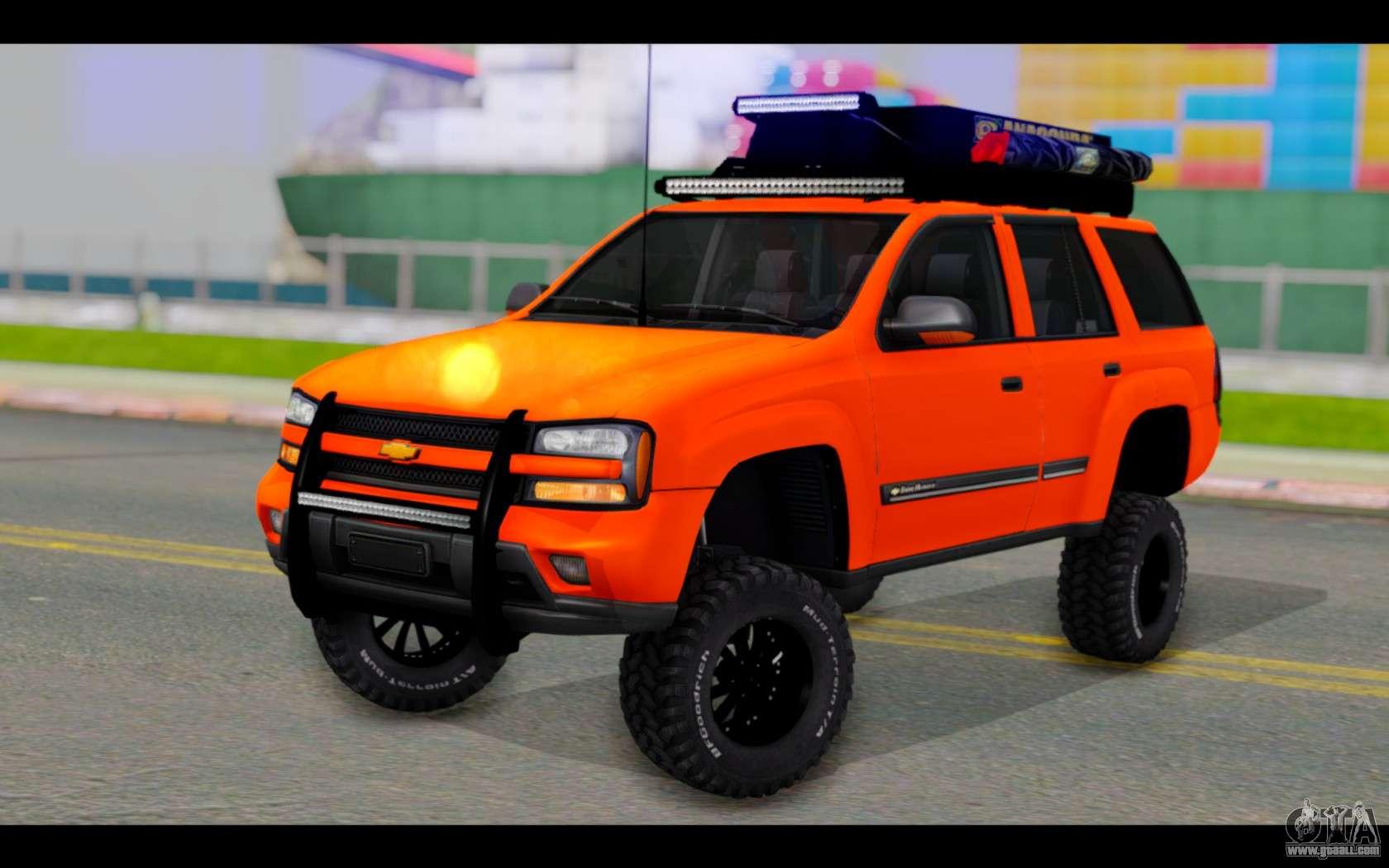 Chevrolet Traiblazer Off-Road for GTA San Andreas