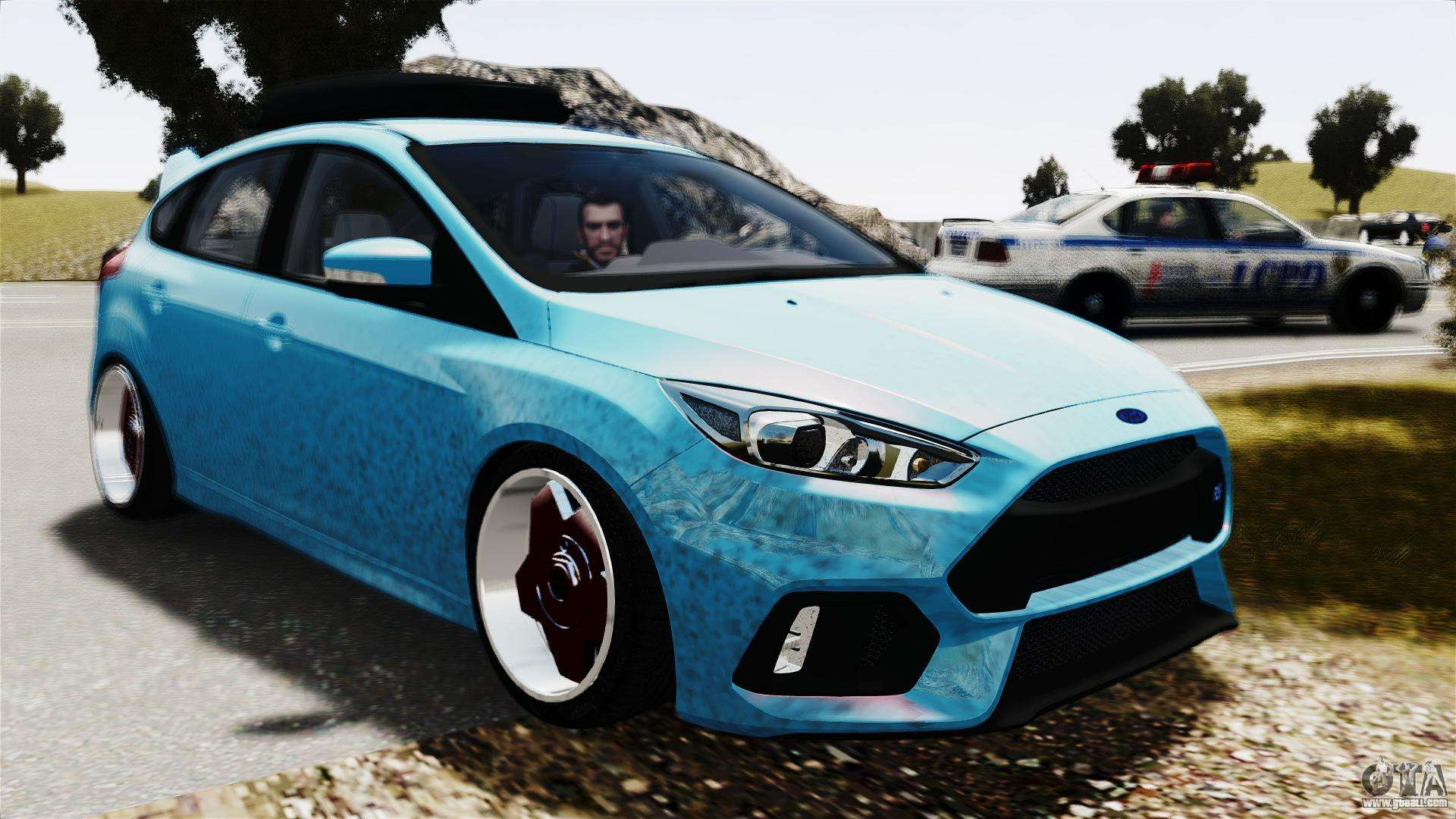 Ford Focus RS 2017 Camber for GTA 4 right view