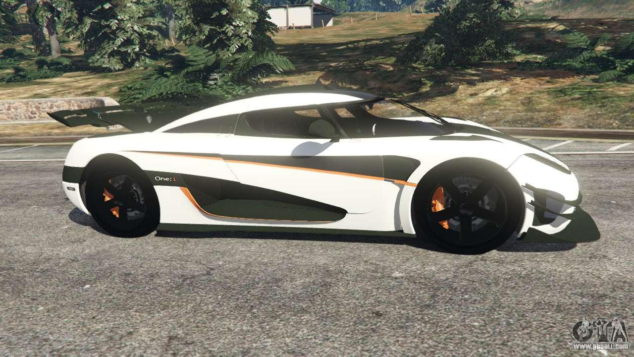 Koenigsegg For Gta