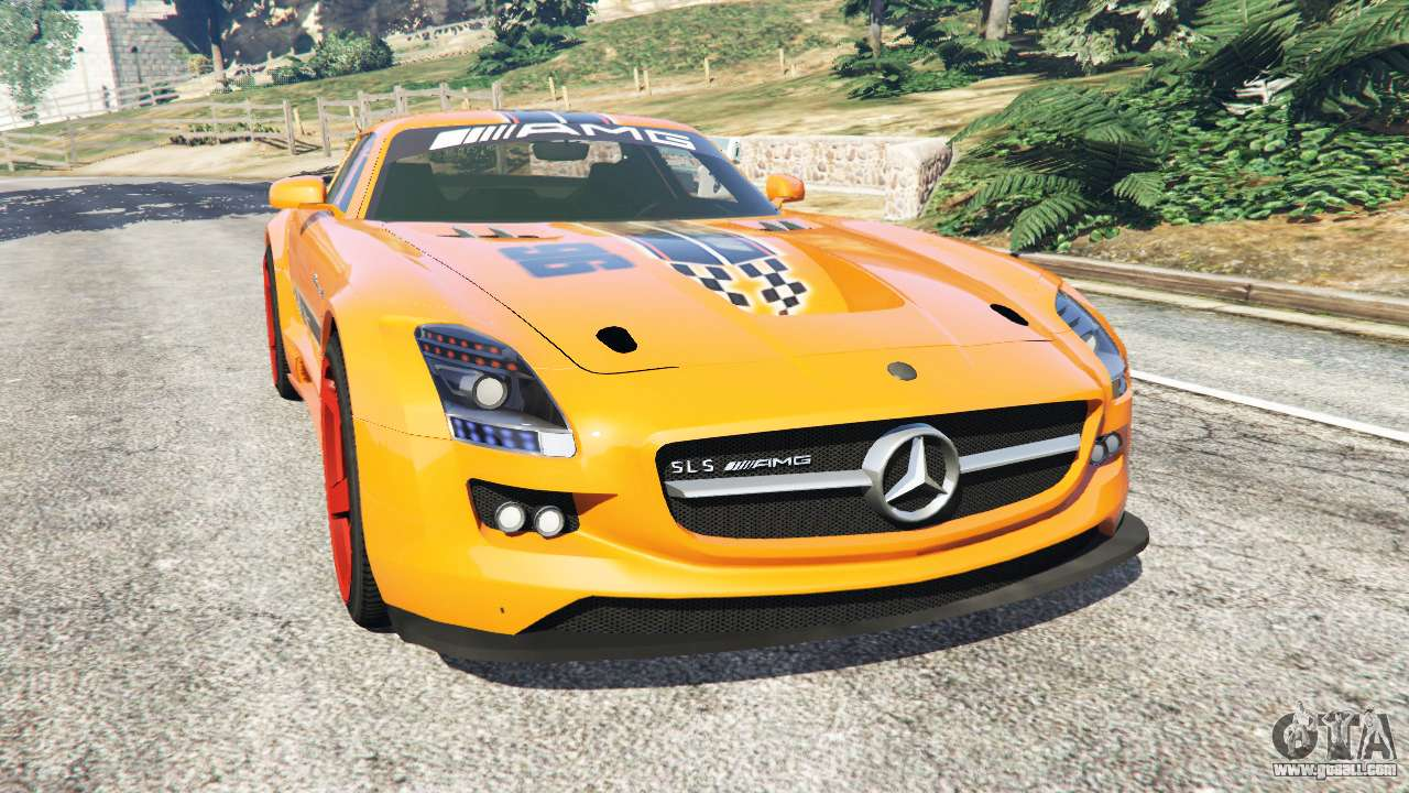 mercedes benz sls amg gt3 for gta 5. Black Bedroom Furniture Sets. Home Design Ideas