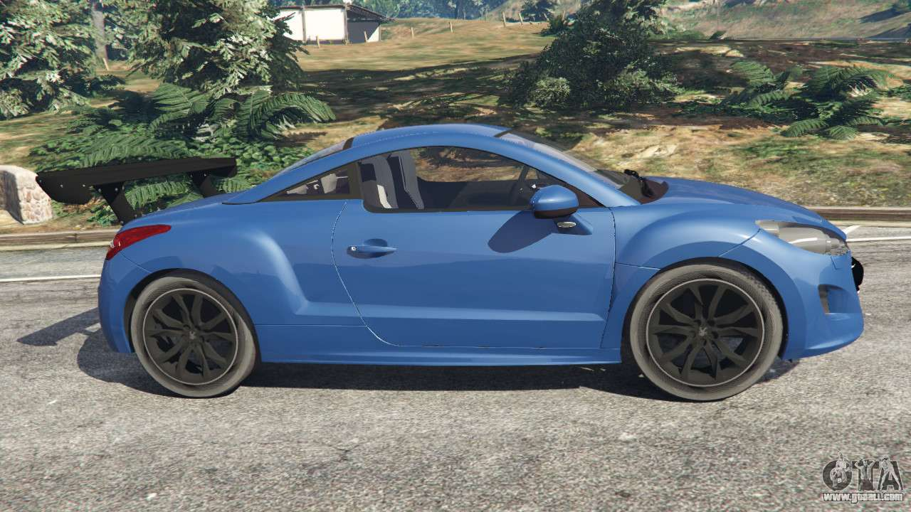 peugeot rcz for gta 5. Black Bedroom Furniture Sets. Home Design Ideas