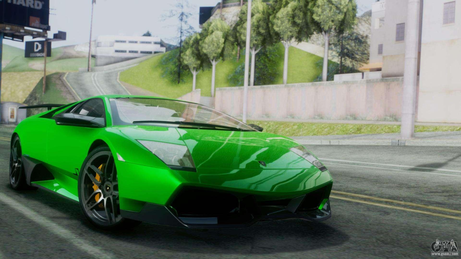 Lamborghini Murcielago For Gta San Andreas