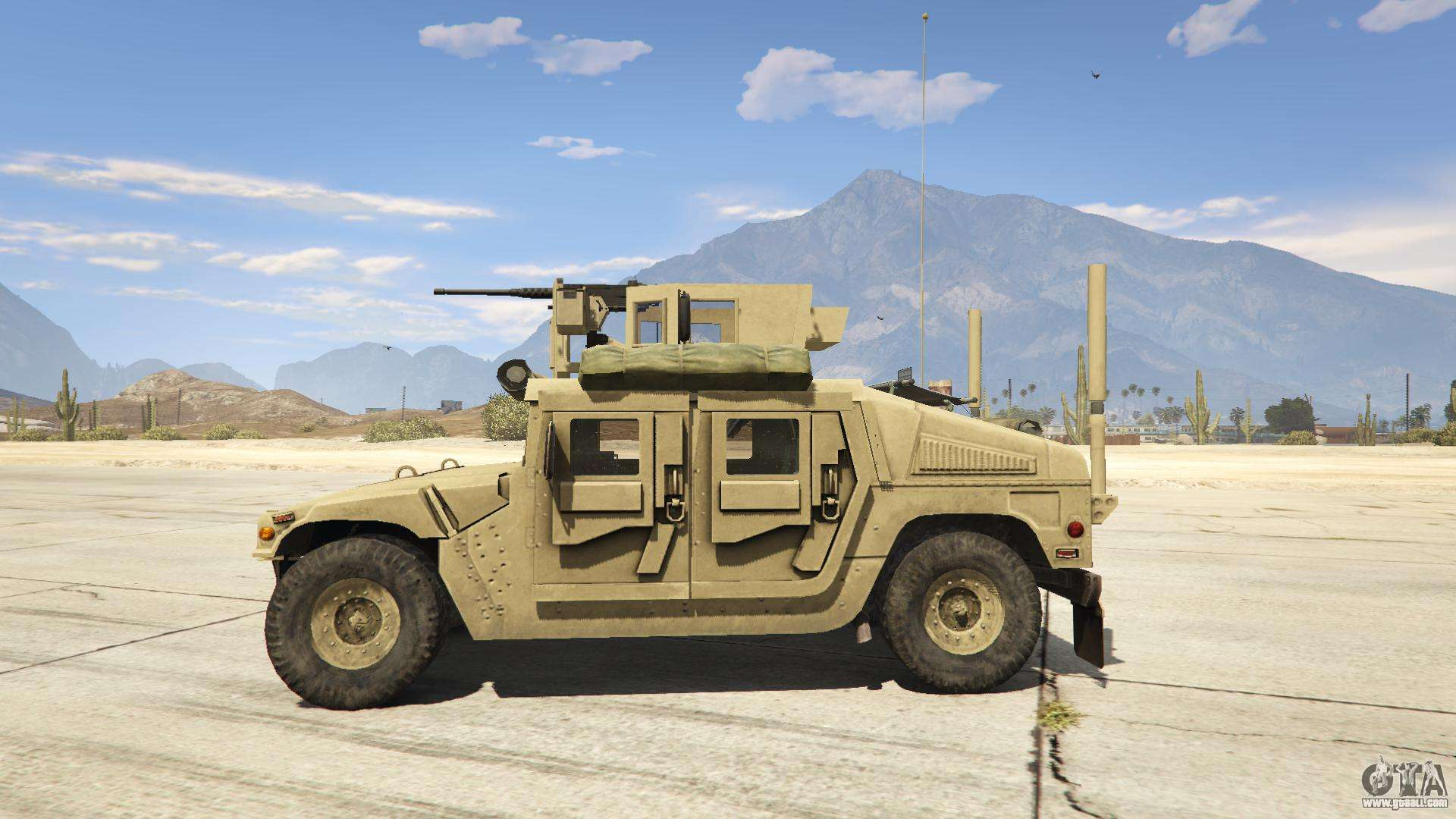M1116 humvee up armored 1 1 for gta 5 for Interieur online