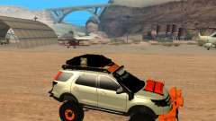 Ford Explorer 2013 Off Road