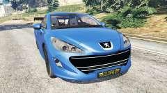 Peugeot RCZ for GTA 5