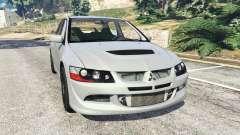 Mitsubishi Lancer Evolution VIII MR for GTA 5