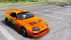 Toyota Supra TRD 1998 for GTA San Andreas