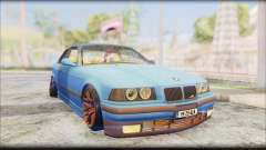 BMW M3 E36 Stanced-Hella for GTA San Andreas