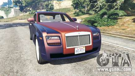 Rolls Royce Ghost 2014 v1.2 for GTA 5