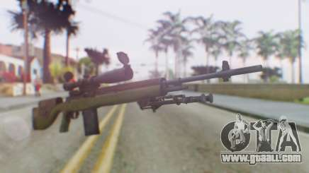 ARMA2 M14 Dmr Sniper for GTA San Andreas