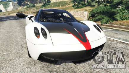 Pagani Huayra 2013 v1.1 [grey rims] for GTA 5