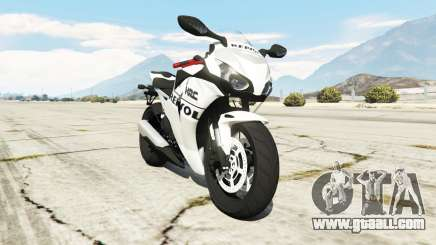 Honda CBR1000RR [Repsol White] for GTA 5