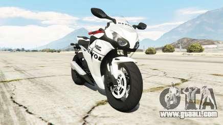 Honda CBR1000RR [Repsol White] for GTA 5