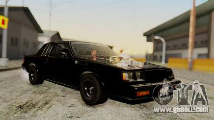 Buick GNX 1987 F&F4 for GTA San Andreas