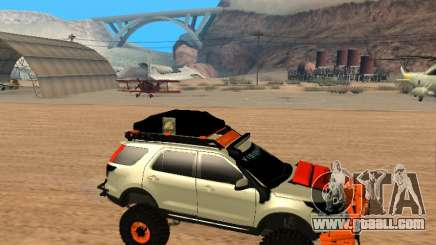 Ford Explorer 2013 Off Road for GTA San Andreas