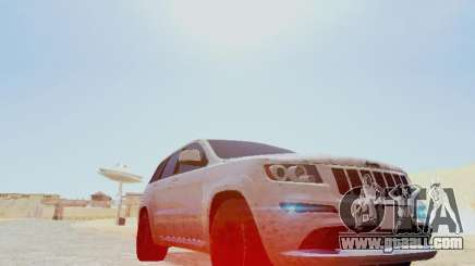 Jeep Grand Cherokee SRT8 2013 Tuning for GTA San Andreas