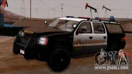 GTA 5 Declasse Sheriff Granger IVF for GTA San Andreas