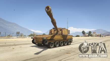 M109 (SAU) Paladin for GTA 5