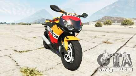 Honda CBR1000RR [Repsol] for GTA 5