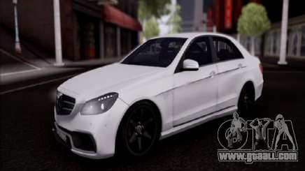 Mercedes-Benz E63 for GTA San Andreas